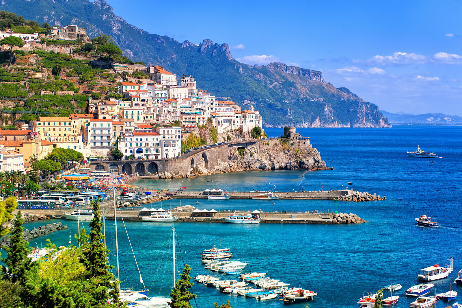 Places to visit when in Italy .