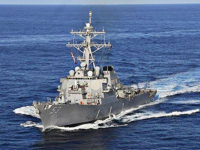 US Navy in Indian Navy's Premises without permission?