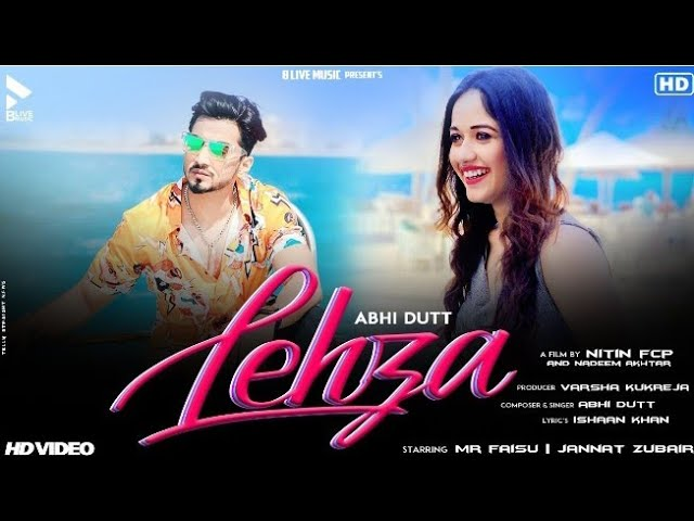 Jannat Zubair's and Faisu's song Lehza trends at Number 1 on YouTube !