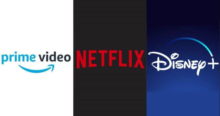 Netflix, Amazon prime, Disney+ ; all recent released shows