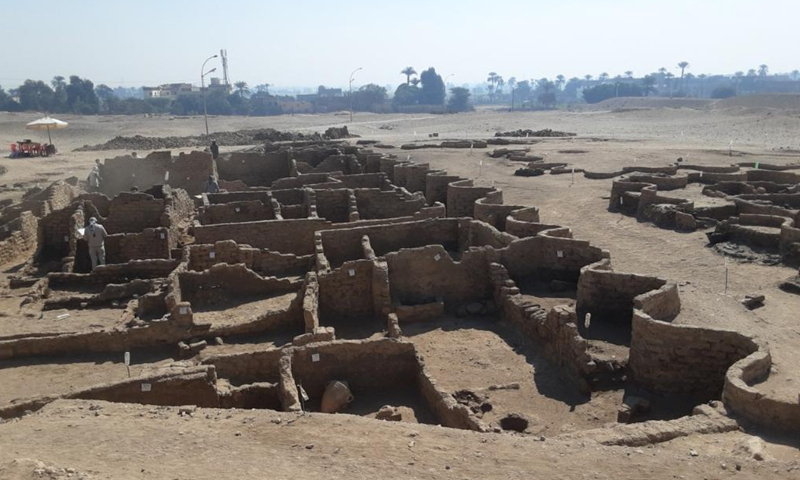 Egyptian archaeolgists discovered 3000 years old gold city.